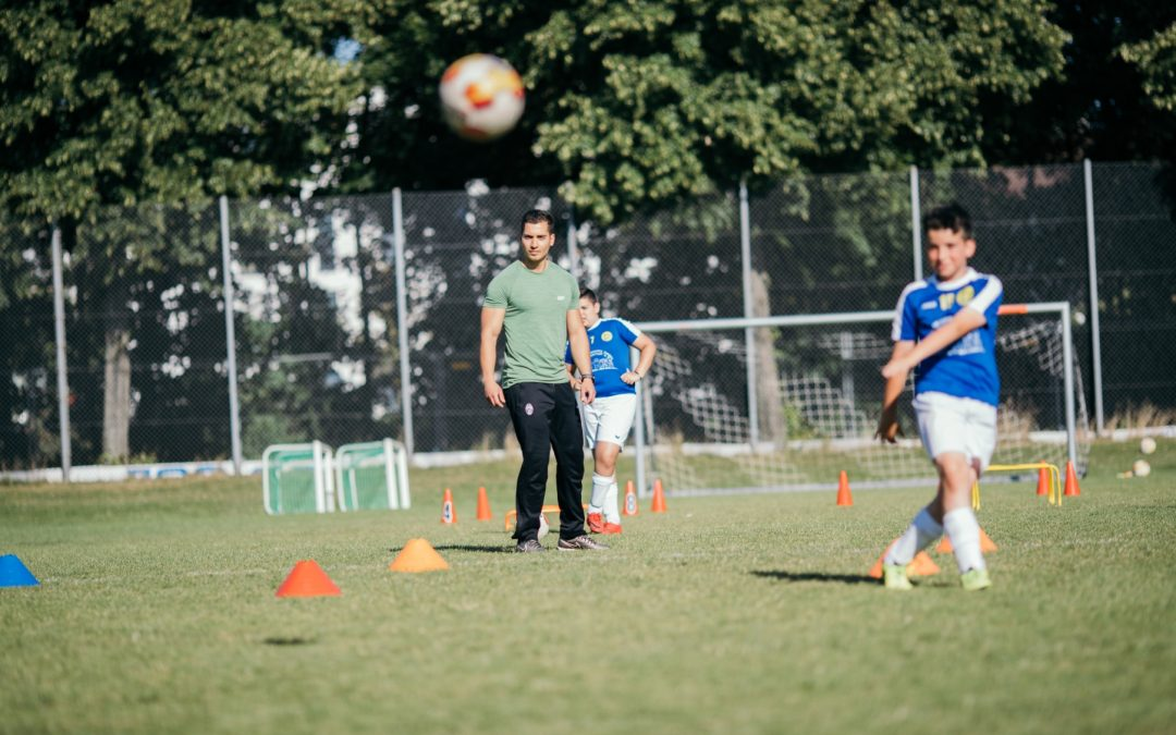 Athletiktraining im Fussball – Koordination –